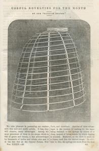 Crinoline van Osborn & Vincent uit 1857