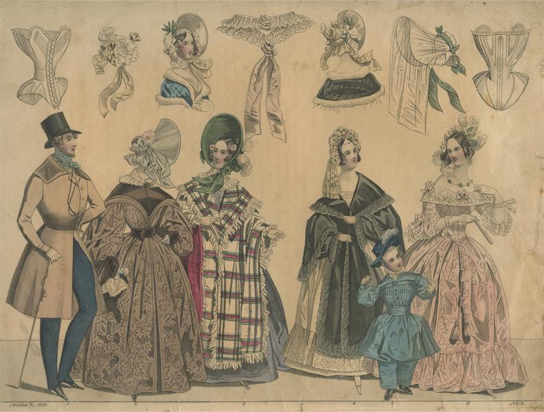 Korsetten 1838
