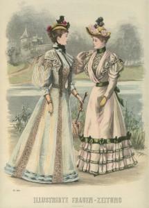 Silhouet anno 1893