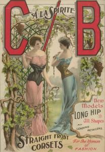 Droit devant korsetten, ca. 1905