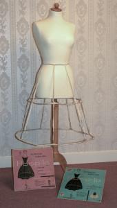 Amerikaanse Hoop-la petticoat, ca. 1955