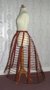 """Thomson's Prize Medal Skirt"", ca. 1863"