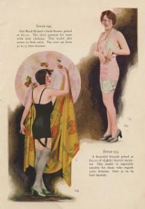 Korseletten, jaren twintig