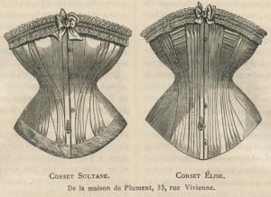 Korsetten, 1875