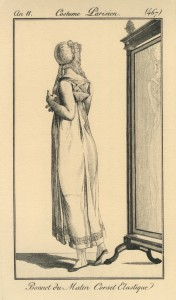 Kort elastisch korset uit 1803 [Libron & Clouzot]