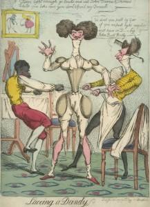 Lacing a Dandy, 1819