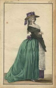 Silhouet anno 1785.
