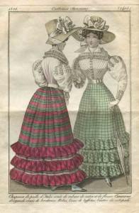 Silhouet anno 1826.