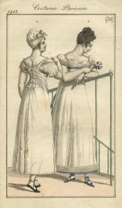 Onderkleding en bovenkleding anno 1813