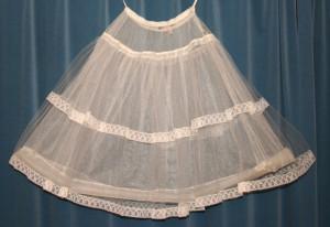 Opblaasbare petticoat, ca. 1960