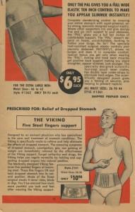 Mannengordels 'Pal' en 'The Viking', jaren vijftig