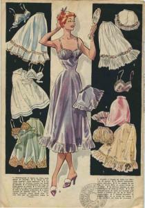 Lingerie, ca.1955