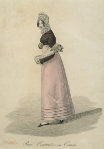 Korsettenverkoopster, ca. 1820