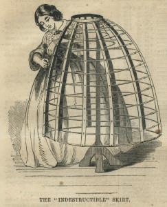 Het plaatsen en bevestigen van de hoepels, 1859