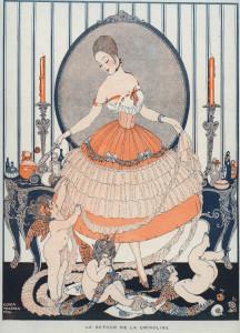 De terugkeer van de crinoline, 1916