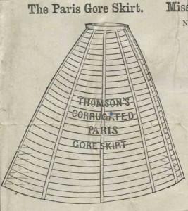 Thomson crinoline cage, 1860