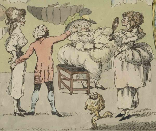 The Bum Shop (detail), 1785