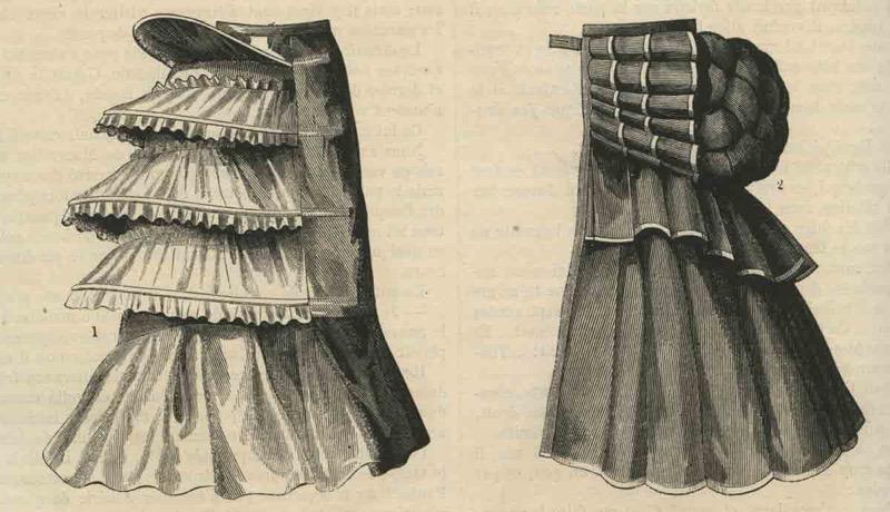 Twee tournures, 1874