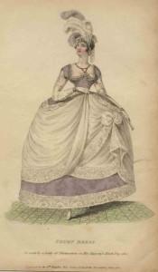 Engelse hofmode, 1810