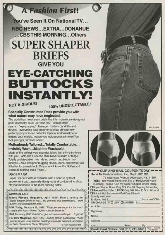 Slip met ingebouwde vulling, 1996