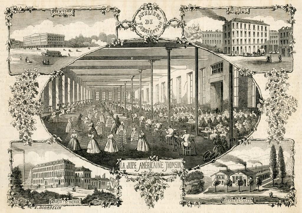 Thomson fabrieken anno 1862