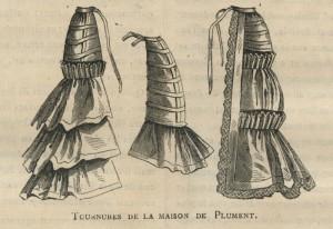 Tournures, 1875