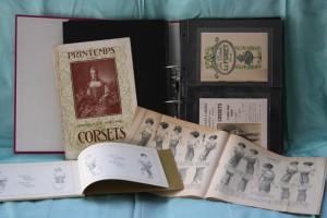 Catalogi met korsetten, ca. 1910
