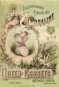 Reclame-boekje van de Warner Brothers voor hun coraline, ca. 1885