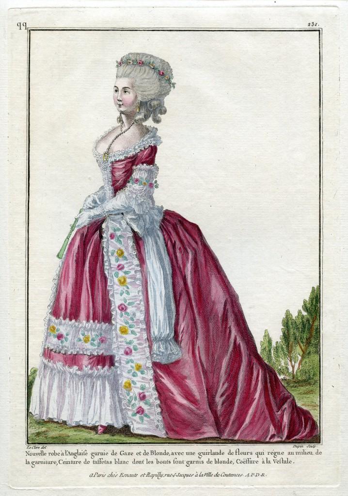 Gallerie des Modes et Costumes français, 1782