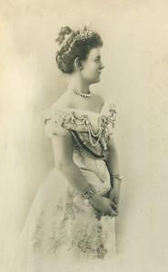 Koningin Wilhelmina, ca. 1900